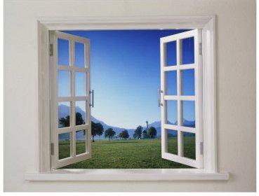 la finestra dalla grotta al curtain wall