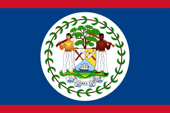 bandiera belize