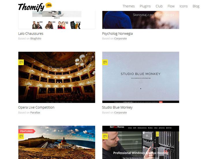 themify showcase