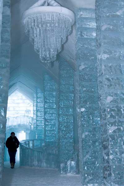 hotel di ghiaccio